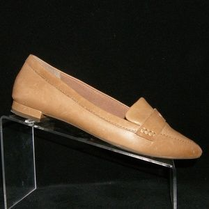 Rockport 'Adelyn' brown leather pointed loafers 8M